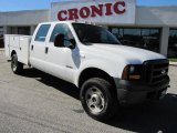 2006 Ford F350 Super Duty XLT Crew Cab 4x4 Chassis Data, Info and Specs