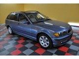 2004 Steel Blue Metallic BMW 3 Series 325xi Wagon #39667152