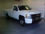 2011 Summit White Chevrolet Silverado 1500 Regular Cab 4x4 #39667165