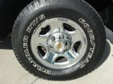 2002 Chevrolet Silverado 1500 Work Truck Regular Cab Wheel