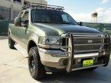 2004 Estate Green Metallic Ford F250 Super Duty King Ranch Crew Cab 4x4 #39666916
