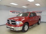 2009 Inferno Red Crystal Pearl Dodge Ram 1500 SLT Crew Cab #39667462