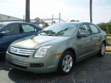 2009 Moss Green Metallic Ford Fusion SE #392589