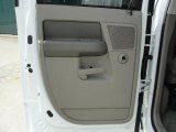 2007 Dodge Ram 3500 Lone Star Quad Cab Dually Door Panel
