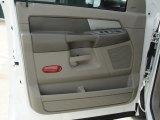 2007 Dodge Ram 3500 Lone Star Quad Cab Dually Door Panel
