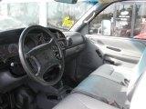 1998 Dodge Ram 3500 ST Regular Cab Chassis Mist Gray Interior