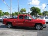 Victory Red Chevrolet Silverado 1500 in 2006