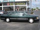 1997 Polo Green Metallic Cadillac DeVille Sedan #39740238