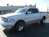 2011 Bright White Dodge Ram 1500 Laramie Crew Cab 4x4 #39739621