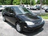 2005 Pitch Black Ford Focus ZX4 SE Sedan #39740691