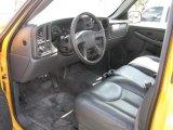 2006 Chevrolet Silverado 1500 Work Truck Regular Cab Dark Charcoal Interior