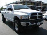 2003 Bright White Dodge Ram 1500 ST Quad Cab #39740702