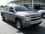 2007 Graystone Metallic Chevrolet Silverado 1500 LT Crew Cab #39740705