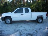 2008 Summit White Chevrolet Silverado 1500 Work Truck Extended Cab 4x4 #39739654