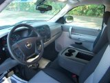 2008 Chevrolet Silverado 1500 Work Truck Extended Cab 4x4 Dark Titanium Interior