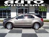 2010 Mocha Steel Metallic Chevrolet Equinox LTZ #39739666