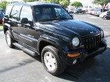 2002 Black Jeep Liberty Limited 4x4 #39740716