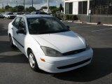 2003 Cloud 9 White Ford Focus LX Sedan #39740304