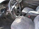 2002 Chevrolet S10 LS Crew Cab 4x4 Graphite Interior
