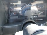 1992 Chevrolet Astro CL Passenger Van Gauges