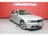 2006 Titanium Silver Metallic BMW 3 Series 325i Coupe #39739708