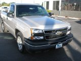 2006 Silver Birch Metallic Chevrolet Silverado 1500 Work Truck Regular Cab #39740349