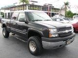 2003 Black Chevrolet Silverado 2500HD LS Extended Cab #39740756