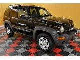 2002 Black Jeep Liberty Sport 4x4 #39739719