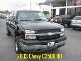 2003 Black Chevrolet Silverado 2500HD LT Extended Cab #39740370