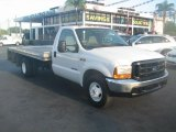 1999 Oxford White Ford F350 Super Duty XL Regular Cab Chassis #39740789