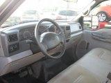 1999 Ford F350 Super Duty XL Regular Cab Chassis Medium Graphite Interior