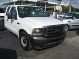 2003 Oxford White Ford F250 Super Duty XL SuperCab Chassis #39740797