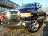 2005 Black Dodge Ram 1500 Laramie Regular Cab 4x4 #39739162