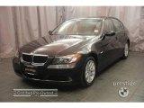 2007 Black Sapphire Metallic BMW 3 Series 328xi Sedan #3961927