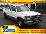 2001 Bright White Dodge Ram 2500 ST Quad Cab #39740414