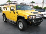 2003 Yellow Hummer H2 SUV #39740808