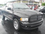 2004 Black Dodge Ram 1500 Laramie Quad Cab #39740811