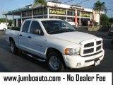 2004 Bright White Dodge Ram 1500 SLT Quad Cab #39740813