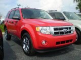 2009 Torch Red Ford Escape XLT V6 #392594