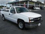 2006 Summit White Chevrolet Silverado 1500 Work Truck Regular Cab #39740823