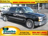 2005 Black Chevrolet Silverado 1500 LS Crew Cab #39740431