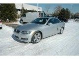 2009 Titanium Silver Metallic BMW 3 Series 335i Convertible #3970291