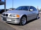 2001 Titanium Silver Metallic BMW 3 Series 325i Sedan #39739820
