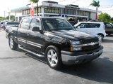 2005 Black Chevrolet Silverado 1500 LS Crew Cab #39740836