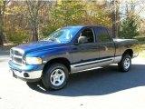 2003 Patriot Blue Pearl Dodge Ram 1500 SLT Quad Cab 4x4 #39739827