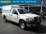 2006 Bright White Dodge Ram 1500 ST Regular Cab #39740451