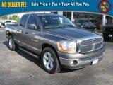 2006 Mineral Gray Metallic Dodge Ram 1500 SLT Quad Cab #39740454
