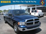 2003 Patriot Blue Pearl Dodge Ram 1500 SLT Quad Cab #39740460