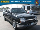2005 Black Chevrolet Silverado 1500 Regular Cab #39740461