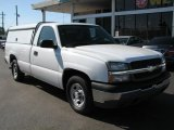 2004 Summit White Chevrolet Silverado 1500 Regular Cab #39740473